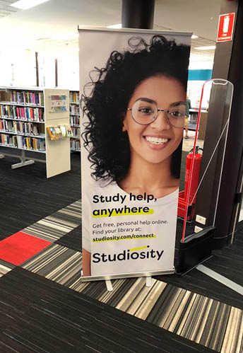 Download Studiosity pull-up banner print file