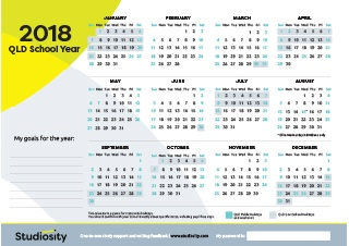 Holiday dates in Brisbane