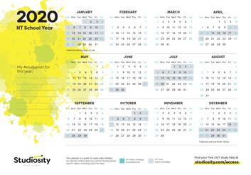 NT 2020 Calendar thumbnail