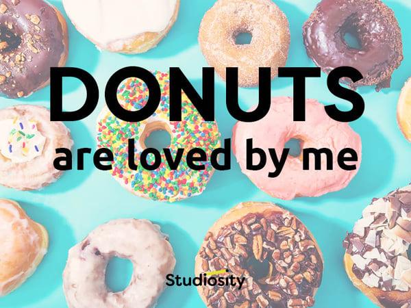Donuts-passive-voice