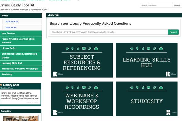 Roehampton-University-Library-best-practice-student-support