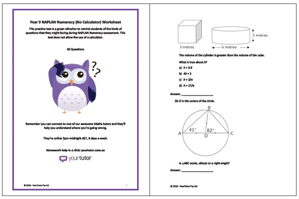Number Names Worksheets maths worksheets for year 9 Free – Year 9 Maths Worksheets