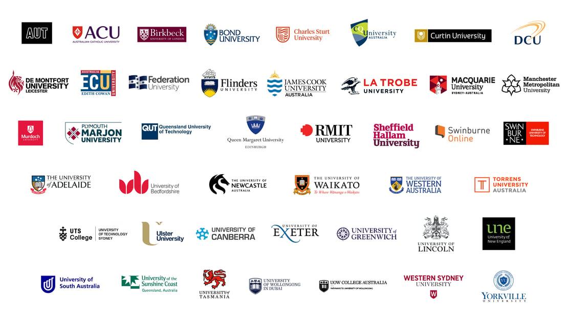 Universities partnering with Studiosity