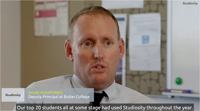Mark Humphries at Butler College reviews Studiosity